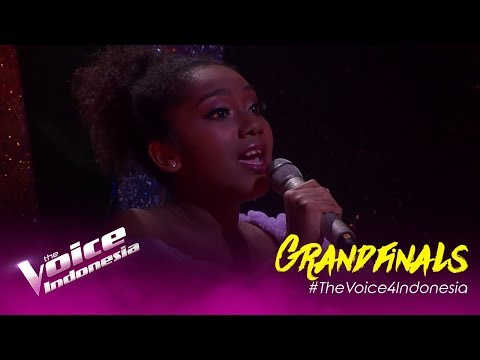 Kupu-Kupu (Melly Goeslaw) - Nikita | Grandfinal | The Voice Indonesia GTV 2019