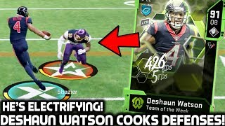Gambar cover DESHAUN WATSON COOKS DEFENSES! MAKING IMPOSSIBLE PLAYS! Madden 20 Ultimate Team