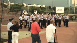 Usafa Band 39 Flash Mob 39