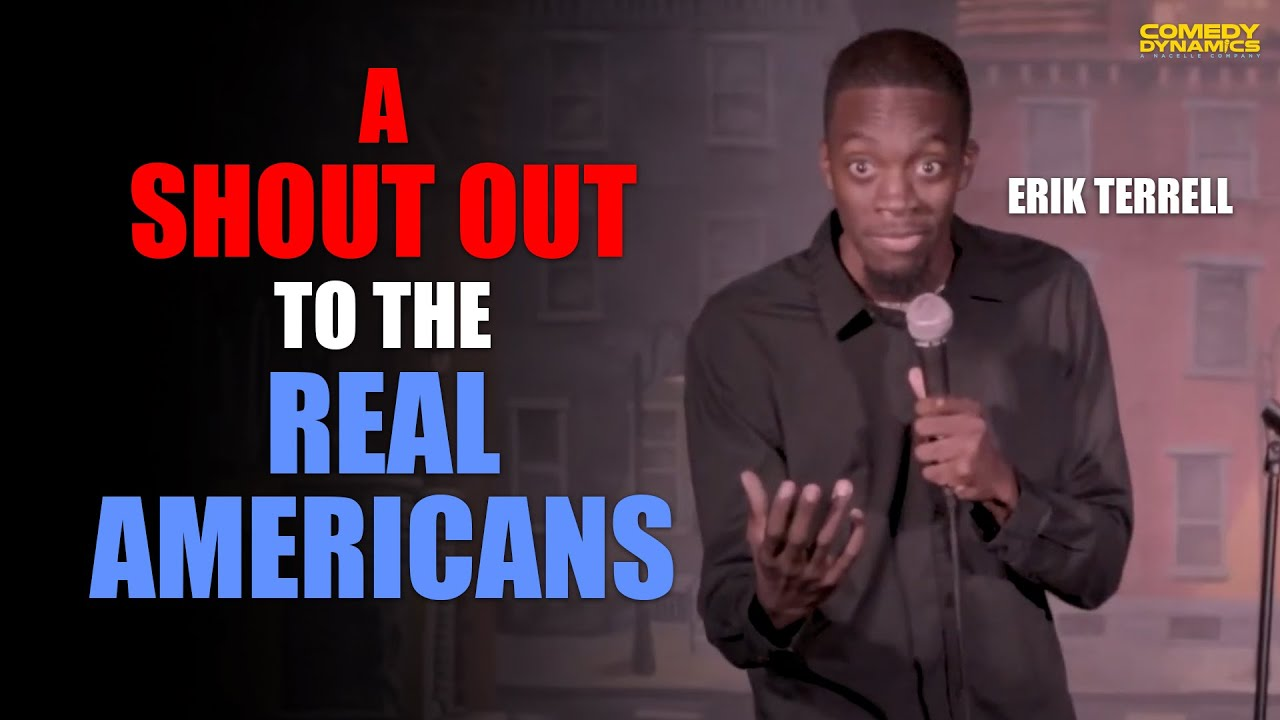 A Shout Out to the Real Americans - Erik Terrell