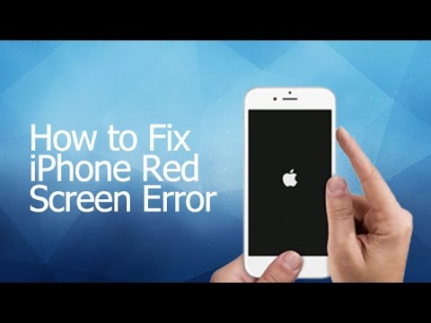 How to Fix iPhone Red Screen Error with iSkysoft iPhone Data Recovery  YouTube