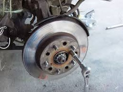 How to Replace the Rear Brakes and Rotors on a 2004 Volkswagen Jetta TDI