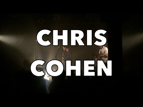 Chris Cohen playing live in Paris (September 2016)