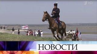 Одно из самых крупных и героических сражений Крымской войны воссоздали в Ростовской области.