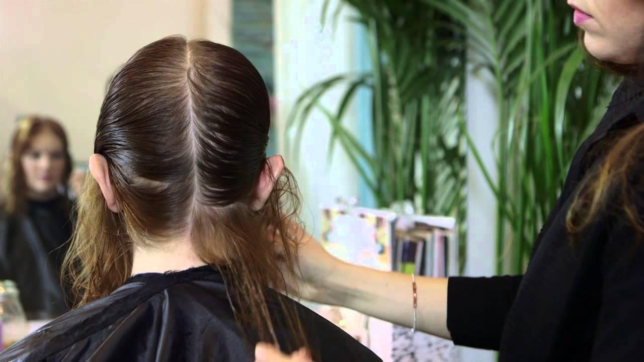 triangle haircuts thin hair