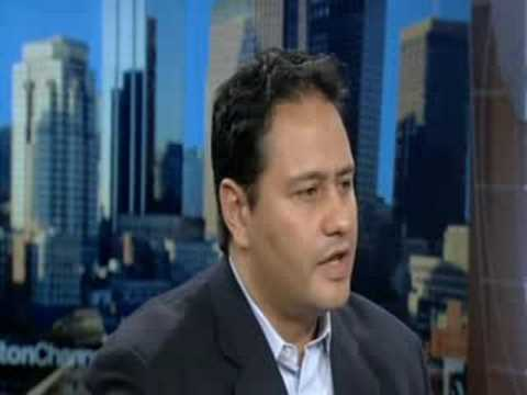 Frankie Cruz, Director of Boston Scholars interviewed on TV