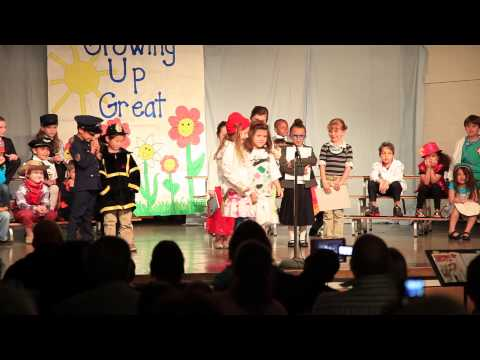 Growing Up Great @ The Chapel School - Monday May 13, 2013