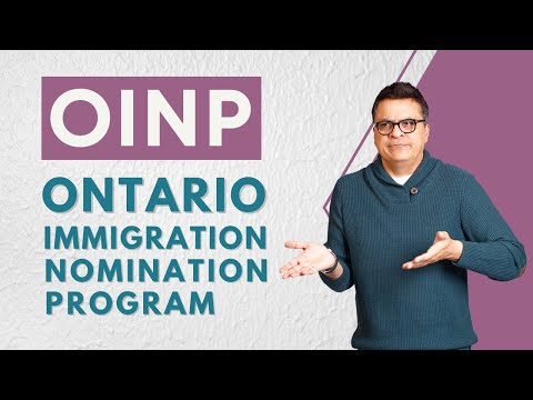 OINP - Ontario Immigration Nomination Program 2017