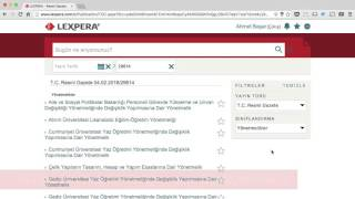 Lexpera'nın Resmi Gazete indeksi işinizi nasıl kolaylaştırır?