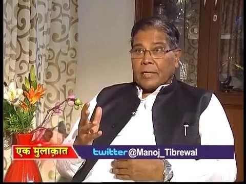Manoj Tibrewal Aakash Interviewed Minority Affairs Minister K. Rahman Khan