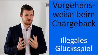 Vorgehensweise beim Chargeback - Illegales Online-Glücksspiel