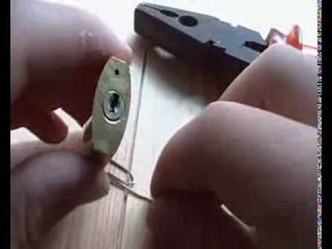 How to pick a lock with 2 paper clips by Dorian maano