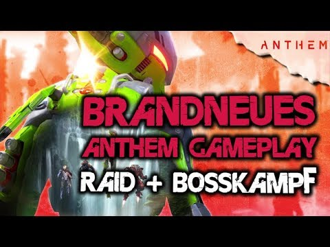 Anthem Deutsch - Neues 20 min Gameplay, Raid + Bosskampf, News, Infos, Loot, Stronghold