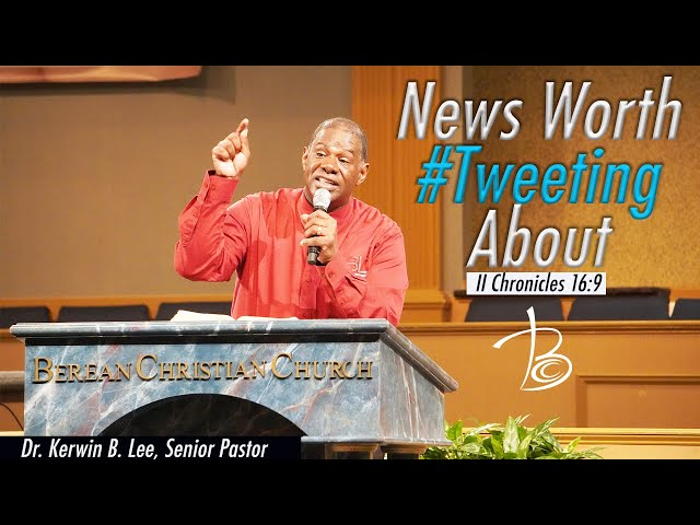 9-20-2020 Sunday Service: News Worth Tweeting About