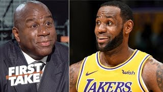 LeBron has a chance to turn the Lakers around - Magic Johnson | First Take