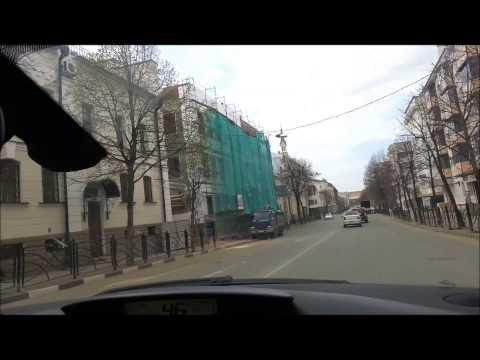 Поездка в Казань на автомобиле