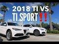 2018 Alfa Romeo Stelvio Ti VS Ti Sport!
