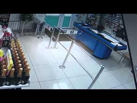 На Камчатке пьяный