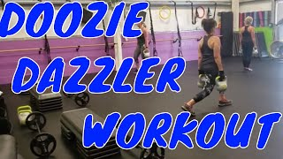 "Doozie Dazzlers Workout on ""Fit Figure 4 Life"""
