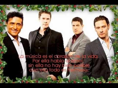 Feliz Navidad Il Divo.Canciones De Navidad Il Divo Navidad 2019