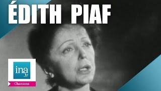 "Edith Piaf ""Mon Dieu"" (live) - Archive vidéo INA"