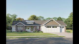 Ranch House Plan 1462-00018