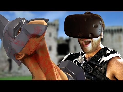 Becoming The Ultimate Arena Gladiator! -  GORN Gladiator Simulator VR Gameplay (HTC Vive)