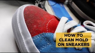 INAAMAG SNEAKERS KO! (+How to Clean Mold on Your Sneakers)