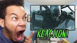 Alien: Covenant Official Trailer REACTION!