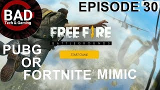PUBG or FORTNITE MIMIC? - Free Fire Battlegrounds Gameplay Mobile