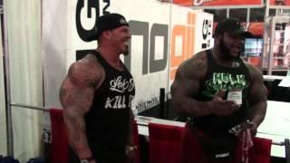 RICH PIANA vs DA HULK - Biceps Battle!