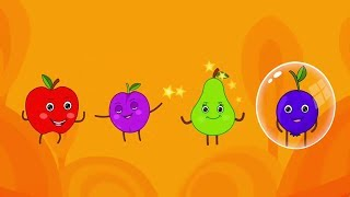 Fun Games With Fruits - Rain Rain Go Away Song - Baby Tv Shows