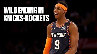 Final Minute of Rockets vs. Knicks Thriller at MSG