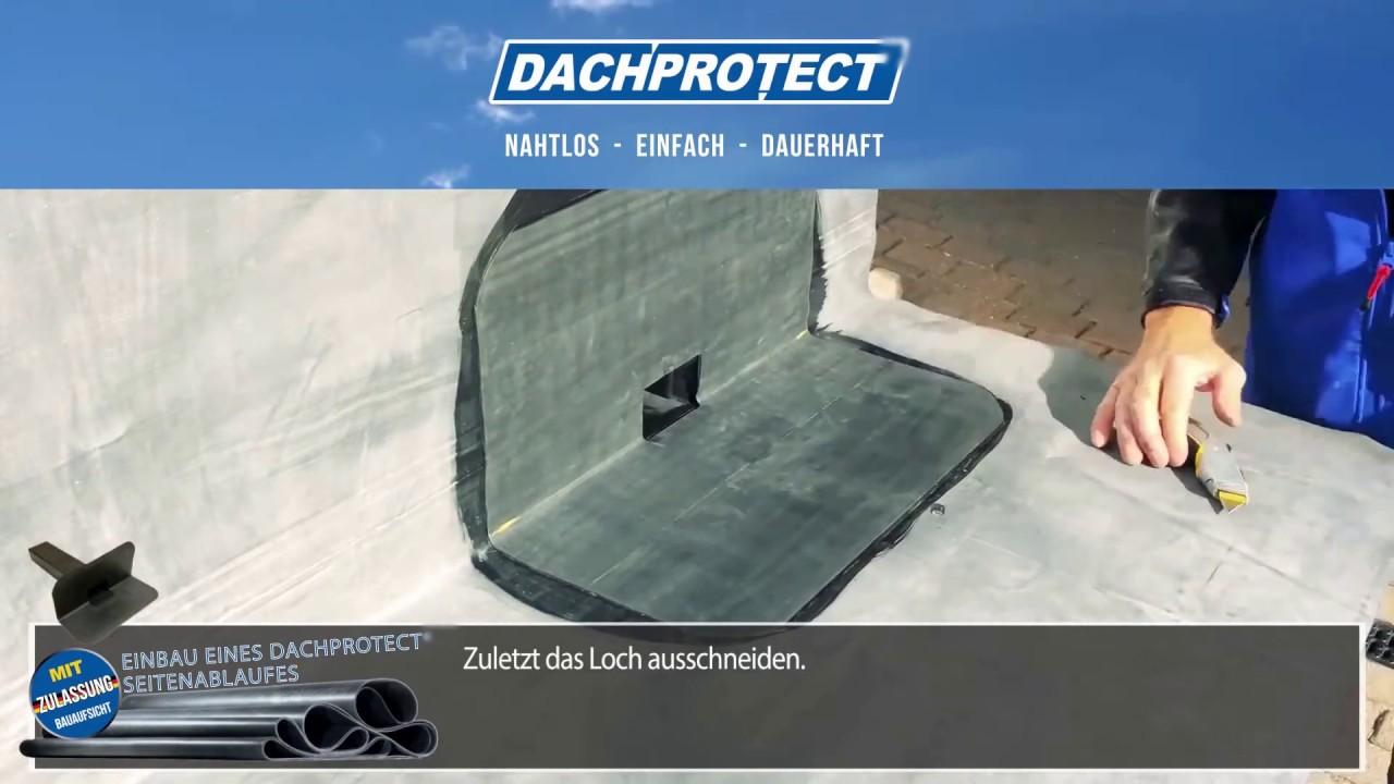 Dachprotect Es Epdm I Seitenablauf 60 X 100 Mm Fur Senkrechten