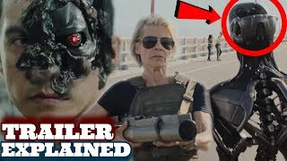 Terminator Dark Fate Trailer Breakdown +Things You Missed