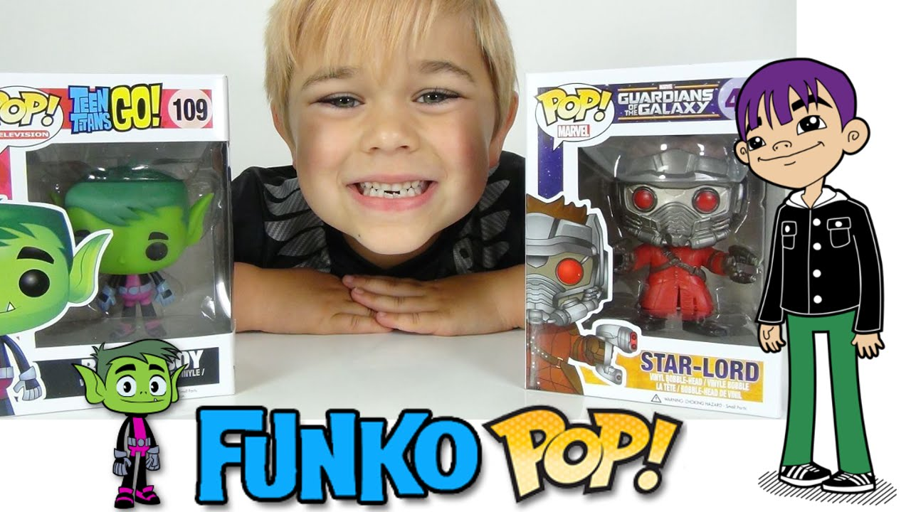 Funko Pop Teen Titans Go Beast Boy And Bobble Head