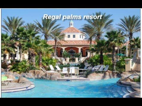 Regal Palms Resort Orlando Davenport Florida Family Fun Youtube