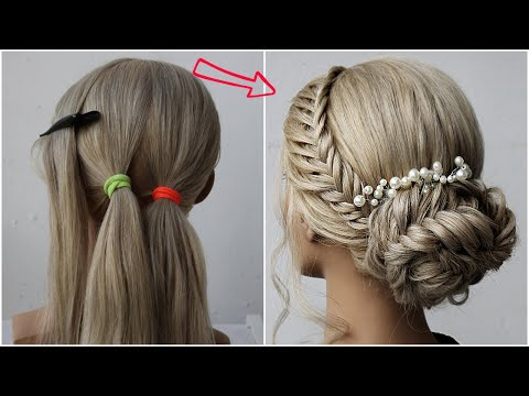 😱 Easy Braid Hairstyle Tutorial 😍 Fishtail Braids | Hairstyle Transformations