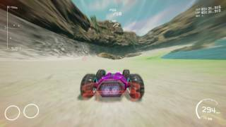 GRIP GAMEPLAY! Most Hardcore Racing Game - New Maps - Islands / Sky Track. Rollcage 1080p 60FPS