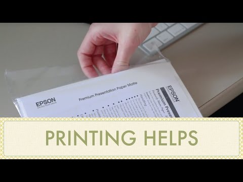How To Print Etsy Printables & Party Printables Tutorial: Printing Tips And Helps