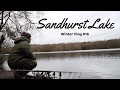 SANDHURST LAKE WINTER CARP FISHING - VLOG #16
