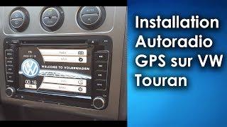 Installation d'un autoradio GPS sur VW Touran