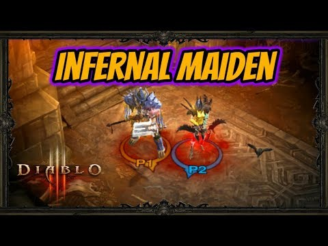 Diablo 3 | Gaming With My Girlfriend - Infernal Maiden