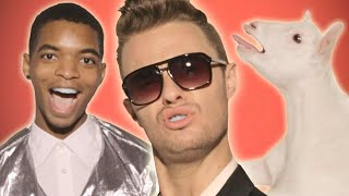 Bart Baker-Robin Thicke Blurred Lines  PARODY Chipmunked Version HD