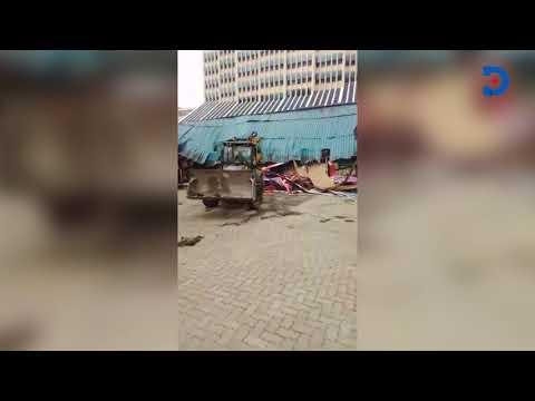 ''Pimp my ride'' Premises along Kenyatta avenue demolished by Nairobi city-county