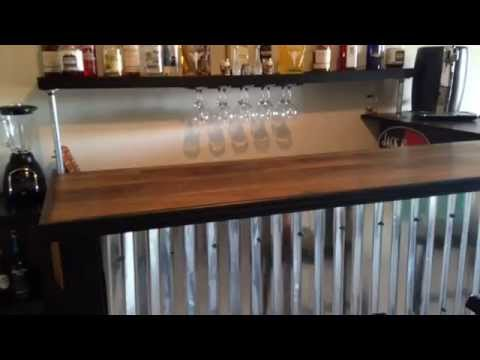 Pallet Bar Tutorial For Less Than 200 YouTube