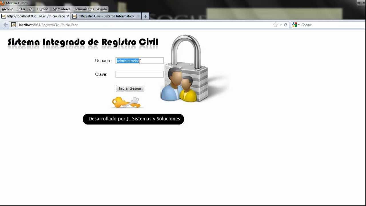 Sistema Integrado de Registro Civil - YouTube
