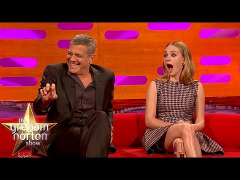 George Clooney May Get Arrested For Prank On Brad Pitt  The Graham Norton