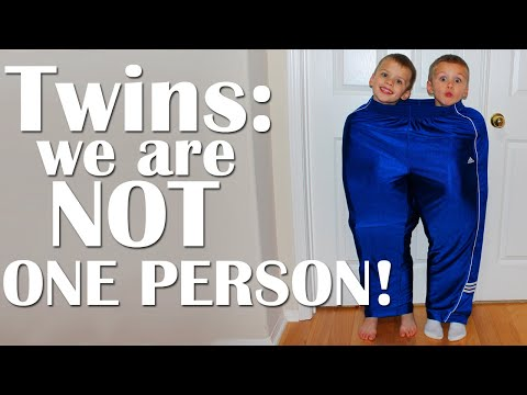A DAY IN THE LIFE OF A TWIN FORCED TO SHARE