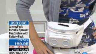JammyPack Portable Speaker Bag System with Rechargeable ...
